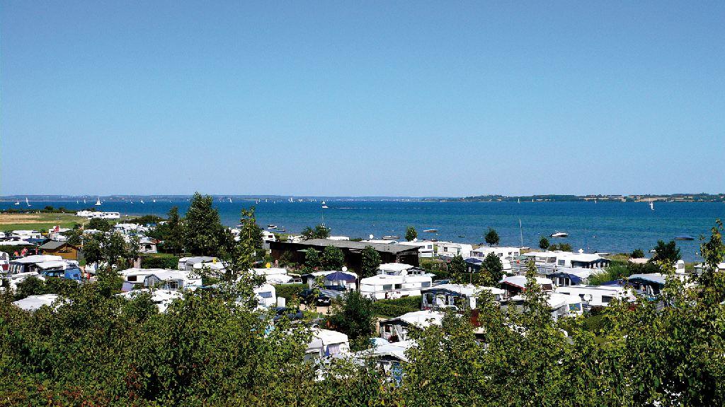 Camping an der Ostseeküste