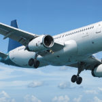 Passagierflugzeug über den Wolken. Wer in ferne Länder fliegt, sollte sich über den Impfschutz informieren.