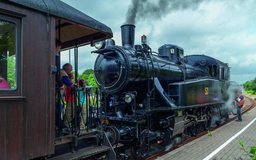 Nostalgische Dampf-Lokomotive in Kappeln