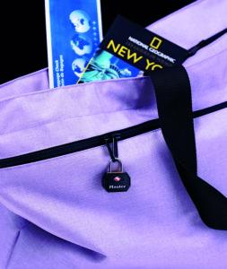 Durch das TSA-Schloss ist dein Koffer vor Diebstahl geschützt