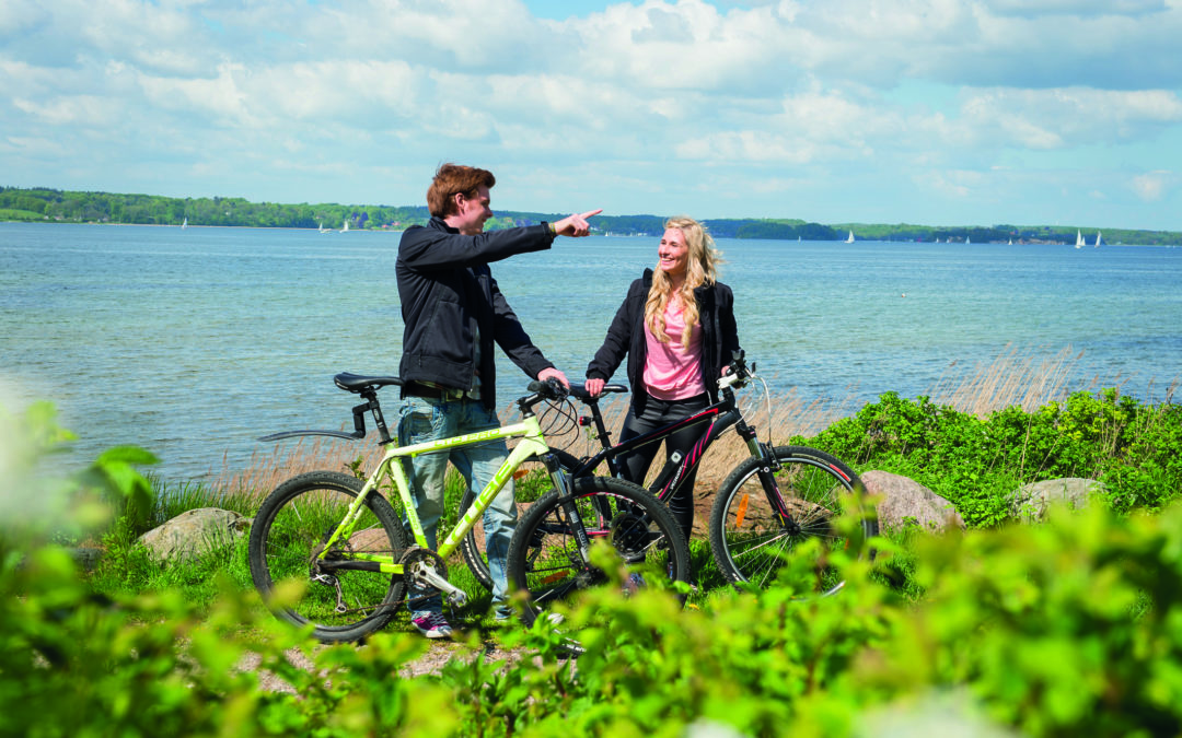 Ostseeküste mit dem Fahrrad entdecken