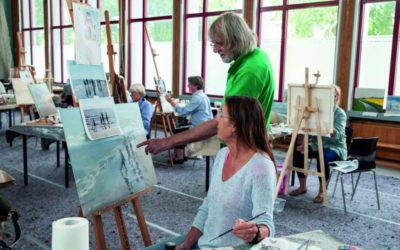 Urlaub und Kunst: künstlerisch aktiv am Ostsee-Fjord